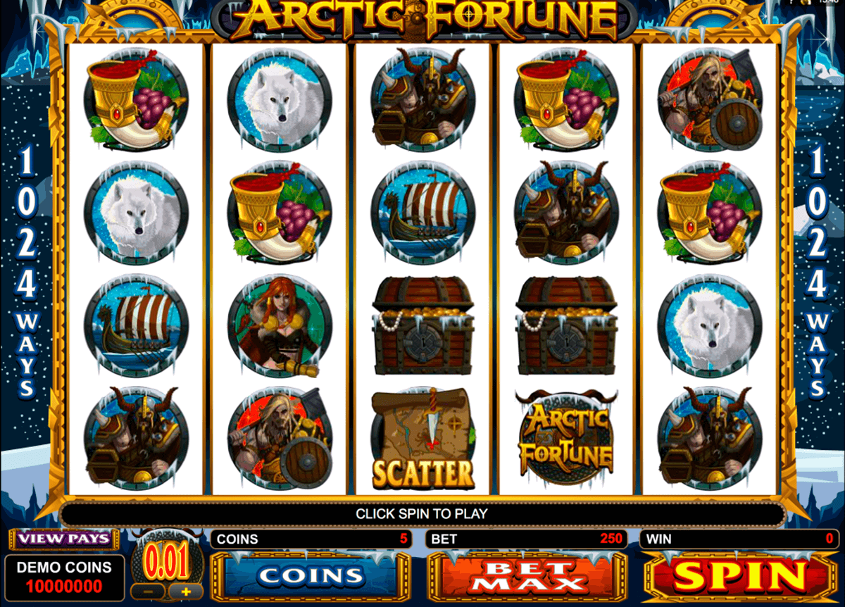 arctic fortune microgaming online gra zadarmo