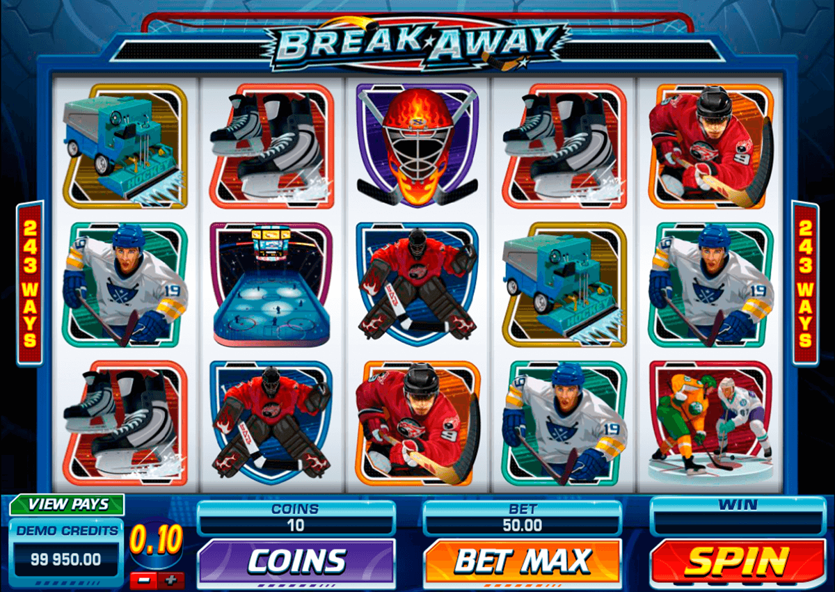 break away microgaming online gra zadarmo