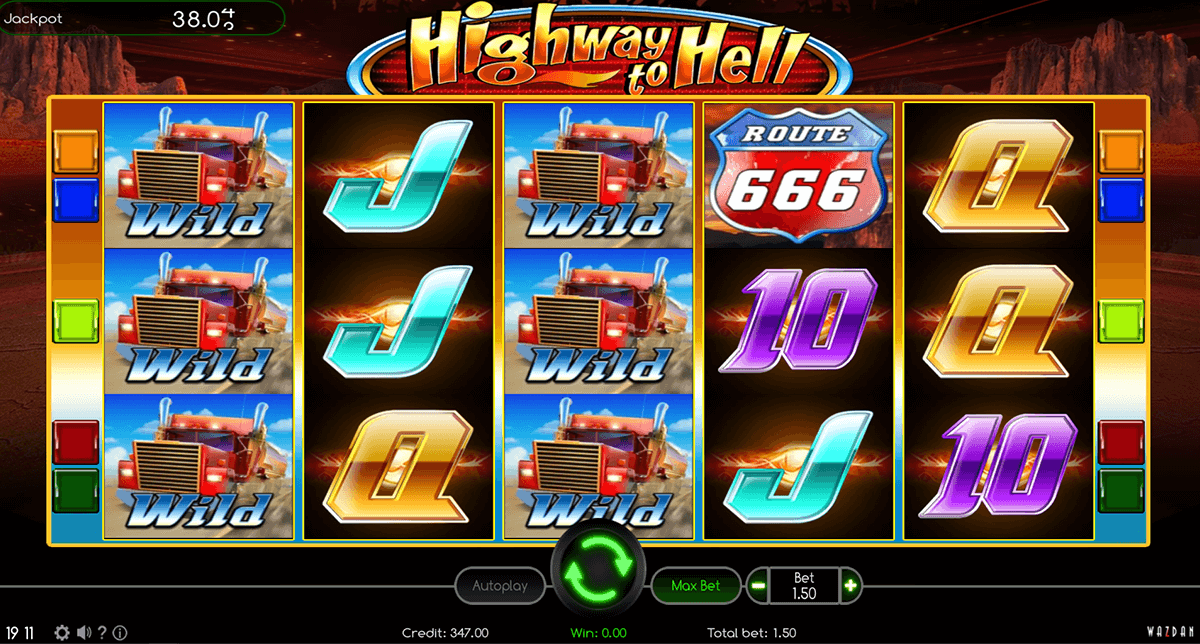 highway to hell wazdan gra automat
