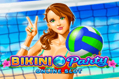 logo bikini party microgaming gry avtomaty