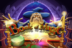 logo book of magic wazdan gra automat