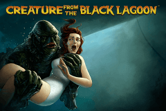 logo creature from the black lagoon netent gry avtomaty