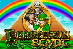 logo leprechaun goes egypt playn go gry avtomaty