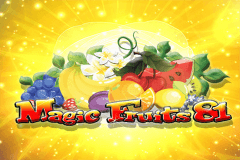 logo magic fruits 81 wazdan gra automat