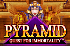 logo pyramid quest for immortality netent gry avtomaty