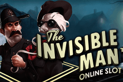 logo the invisible man netent gry avtomaty