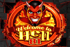 logo welcome to hell 81 wazdan gra automat
