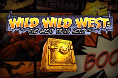 logo wild wild west the great train heist netent gry avtomaty