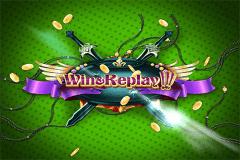 logo win and replay wazdan gra automat
