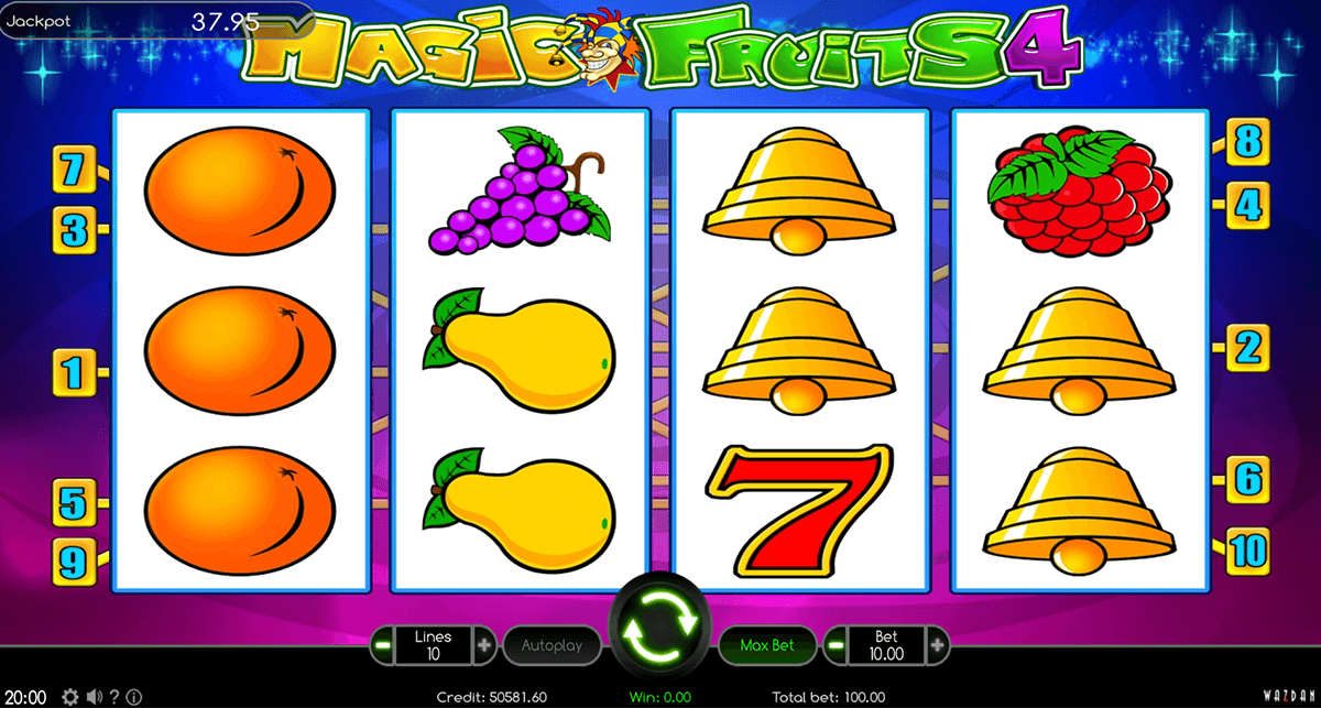 magic fruits 4 wazdan gra automat