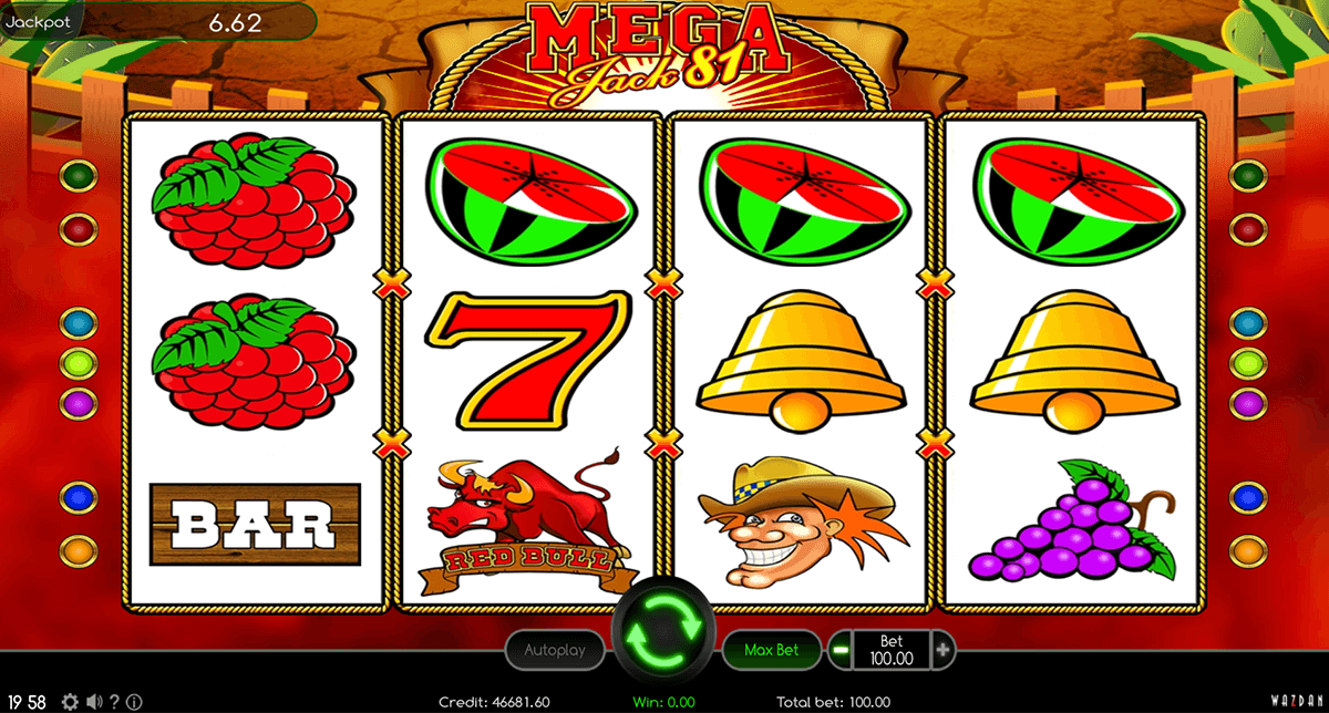 Slot Machine Mega Jack Online