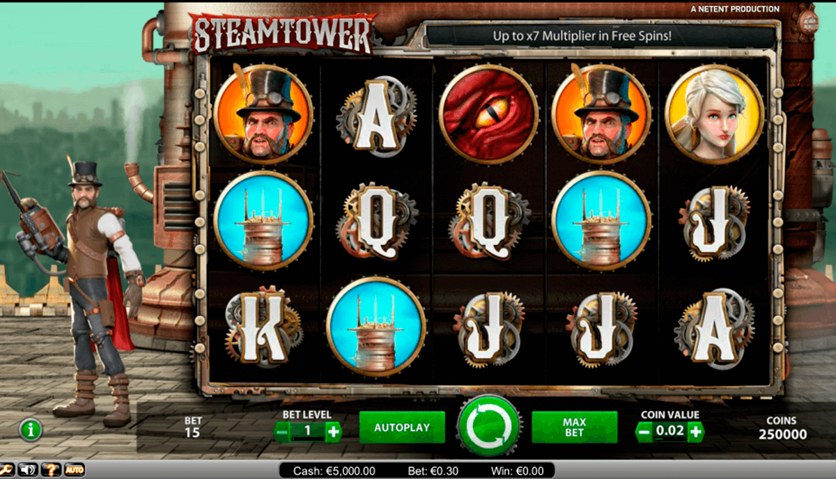 steam tower netent online gra zadarmo